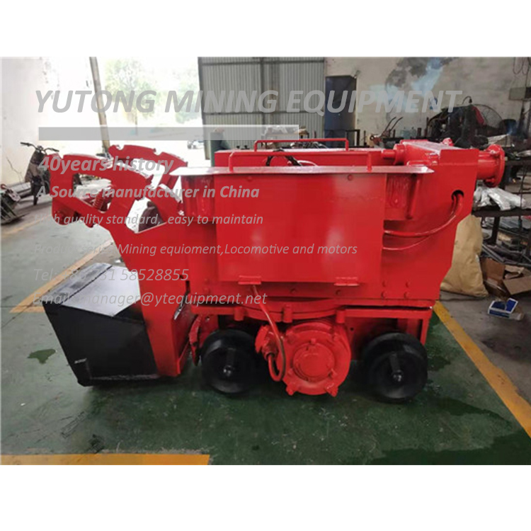 Z-17 Electric Mucking Machine Loader