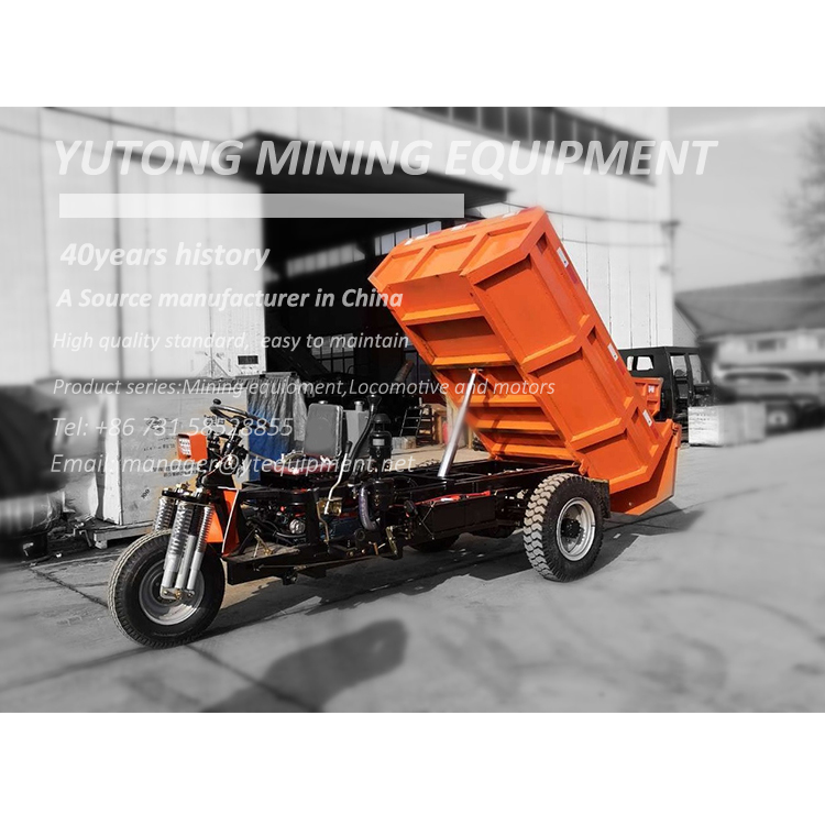 Mining Diesel Tricycle for transportation