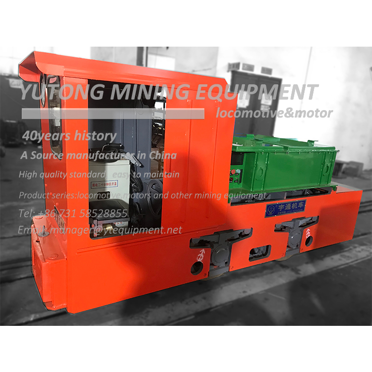 5 Ton Lithium Battery Mining Locomotive